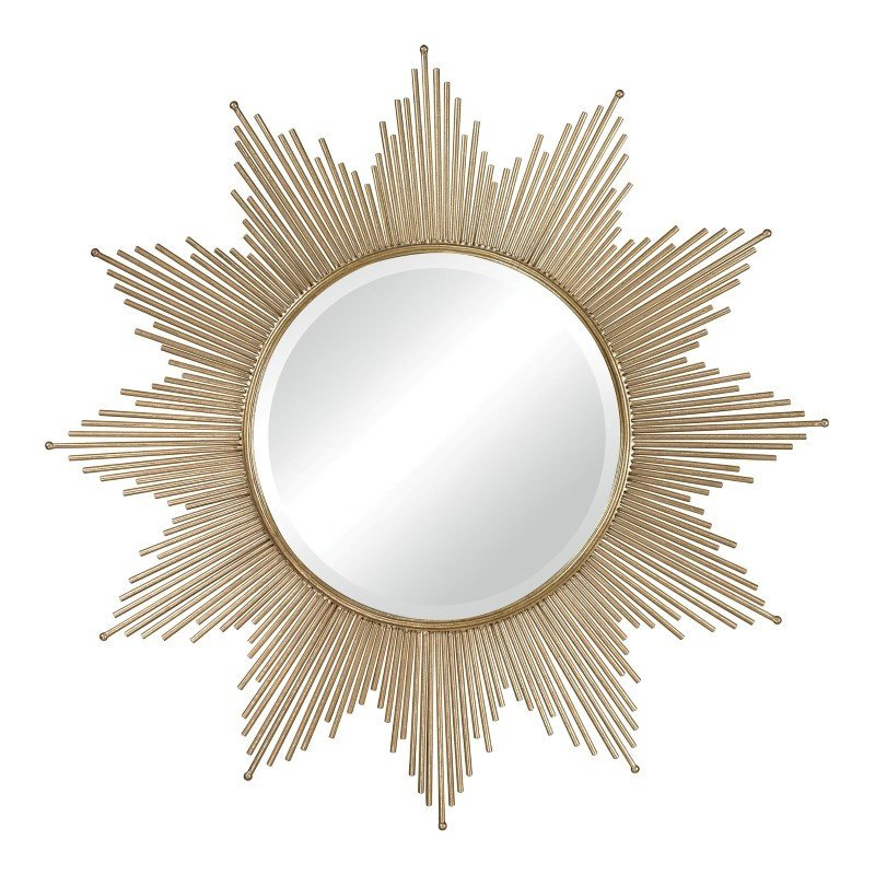 Sterling Industries Churchfield Metal Frame Starburst Mirror