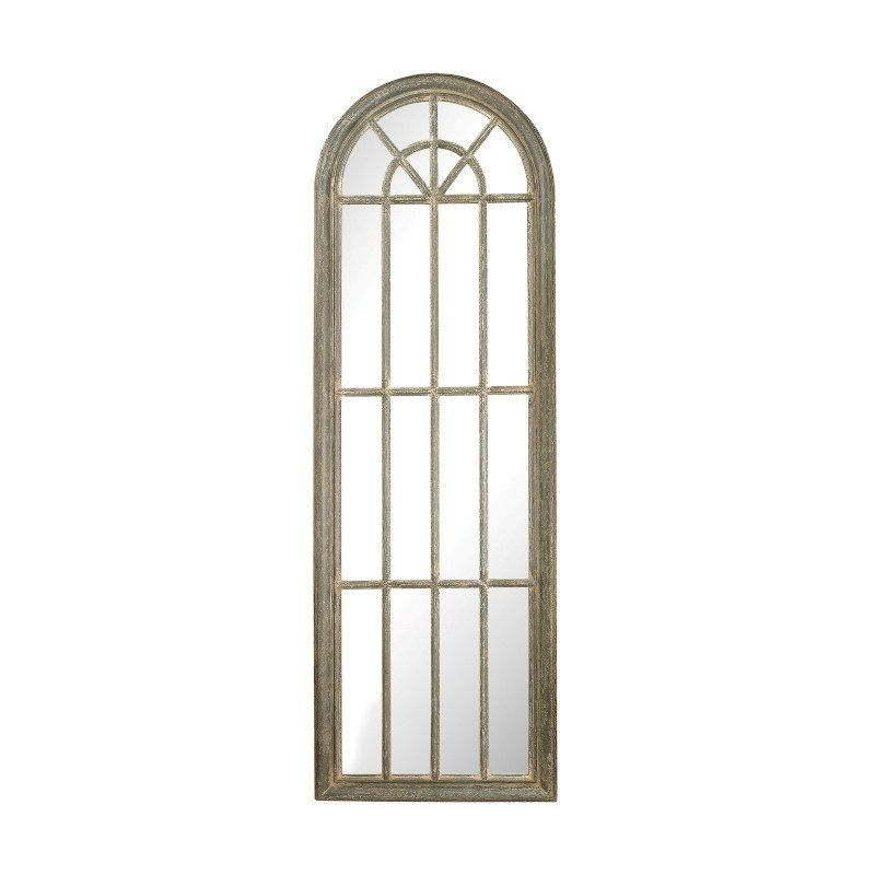 Sterling Industries Full Length Arched Window Pane Mirror