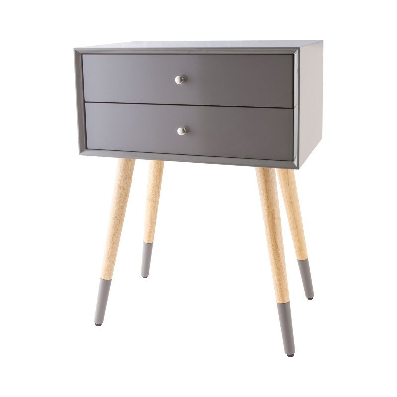 Sterling Industries Googie Accent Table In Cool Grey (1572-004)