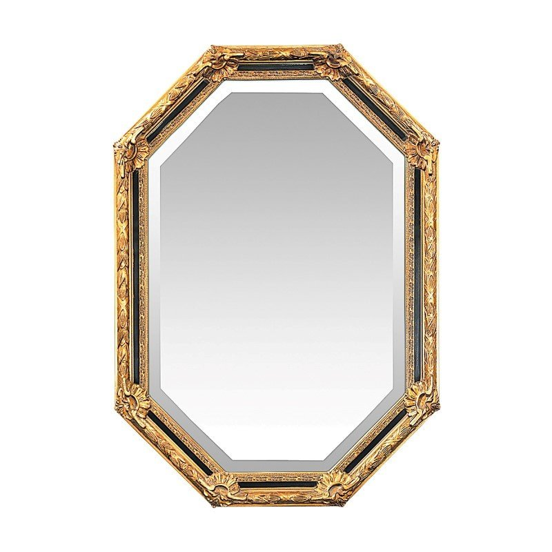 Sterling Industries Inlay Octagon Beveled Mirror