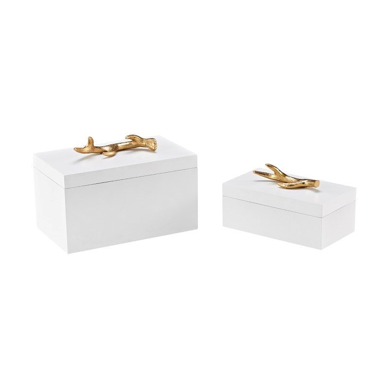 Sterling Industries Lophelia Decorative Boxes (Set of 2)