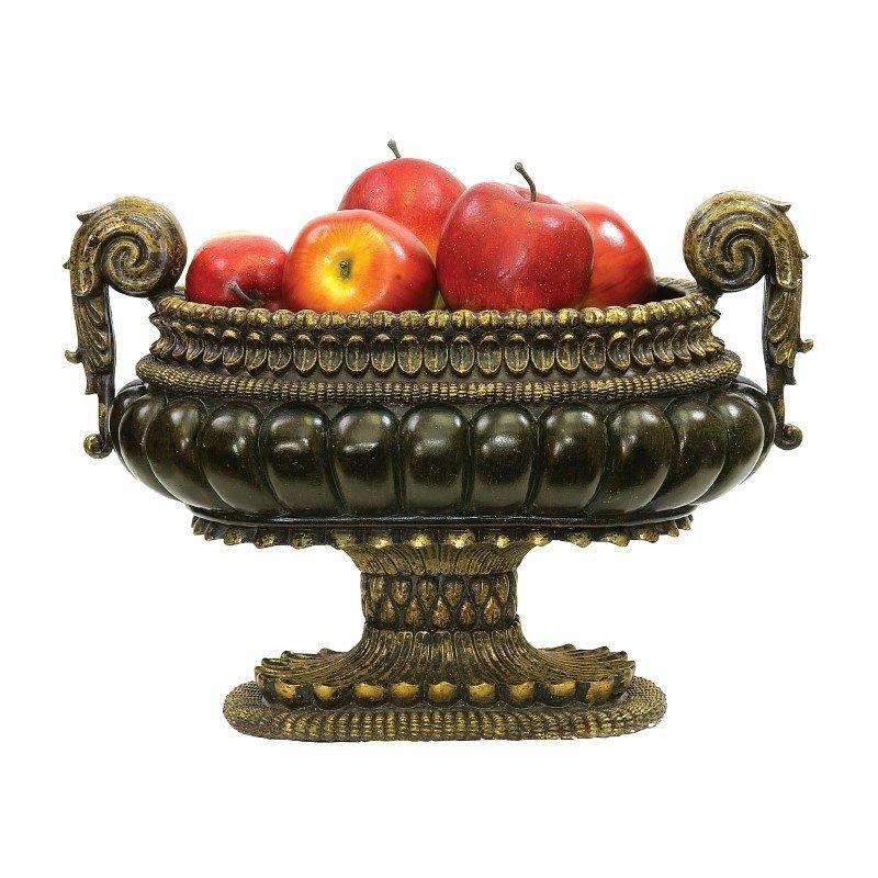 Sterling Industries Mediterranean Decorative Centerpiece Display Bowl