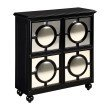 Sterling Industries Mirage Cabinet in Black