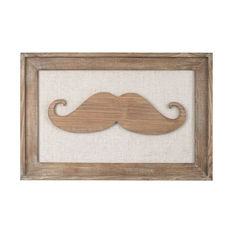 Sterling Industries Moustache on Linen