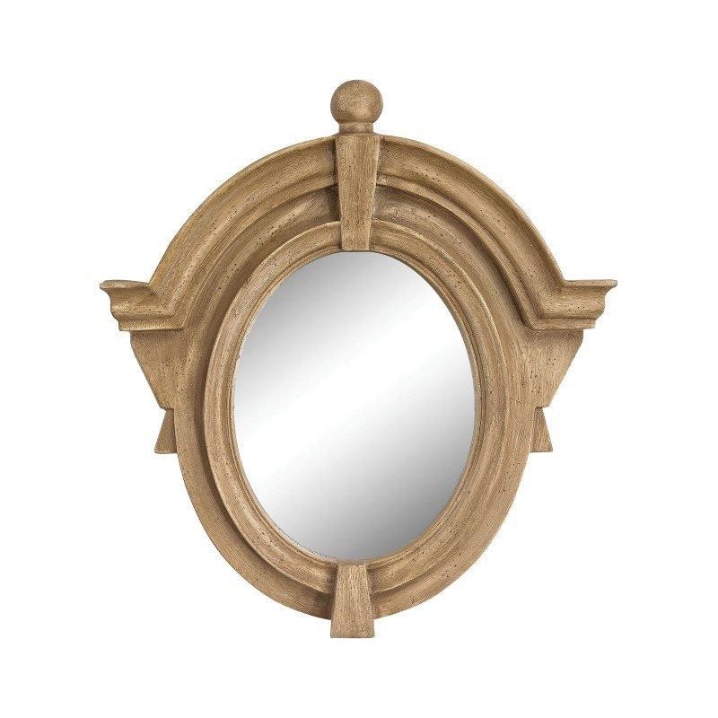 Sterling Industries Parisian Dormer Mirror in Russian Oak