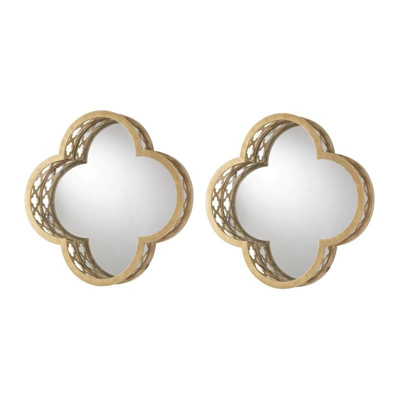 Sterling Industries Quatrefoil Wall Mirrors (Set of 2)