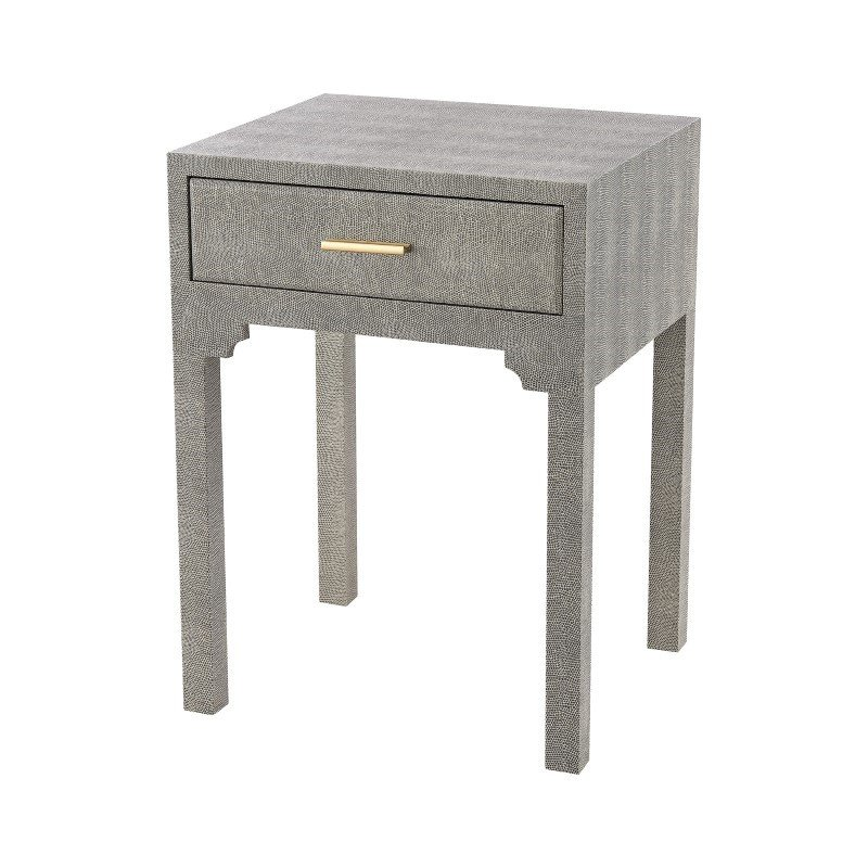 Sterling Industries Sands Point Accent Side Table with Drawer