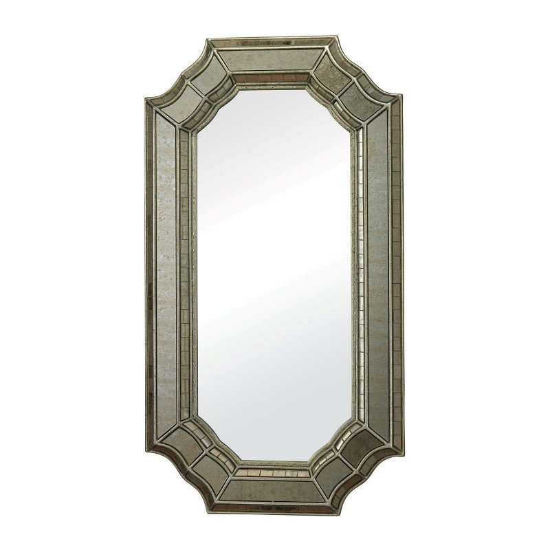 Sterling Industries Saranap Smoked and Hand Cut Glass Mirror