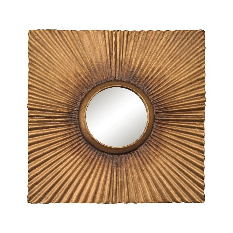 Sterling Industries Terraced Gold Panel Mirror