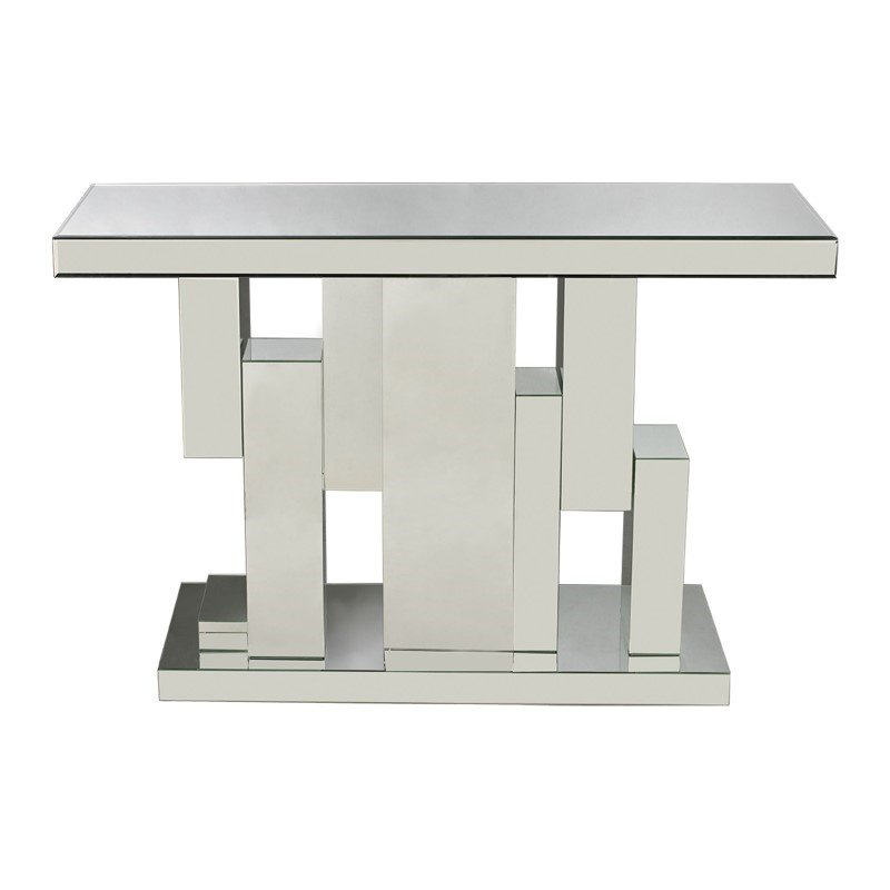Sterling Industries Tetrominoes Mirrored Console Table