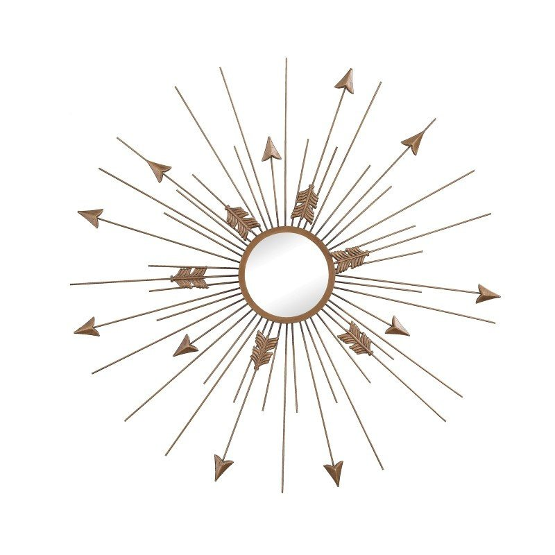 Sterling Industries Thrax Wall Mirror in Antique Gold