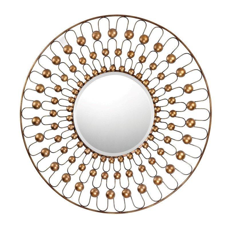 Sterling Industries Wire & Metal Frame Framed Beveled Mirror