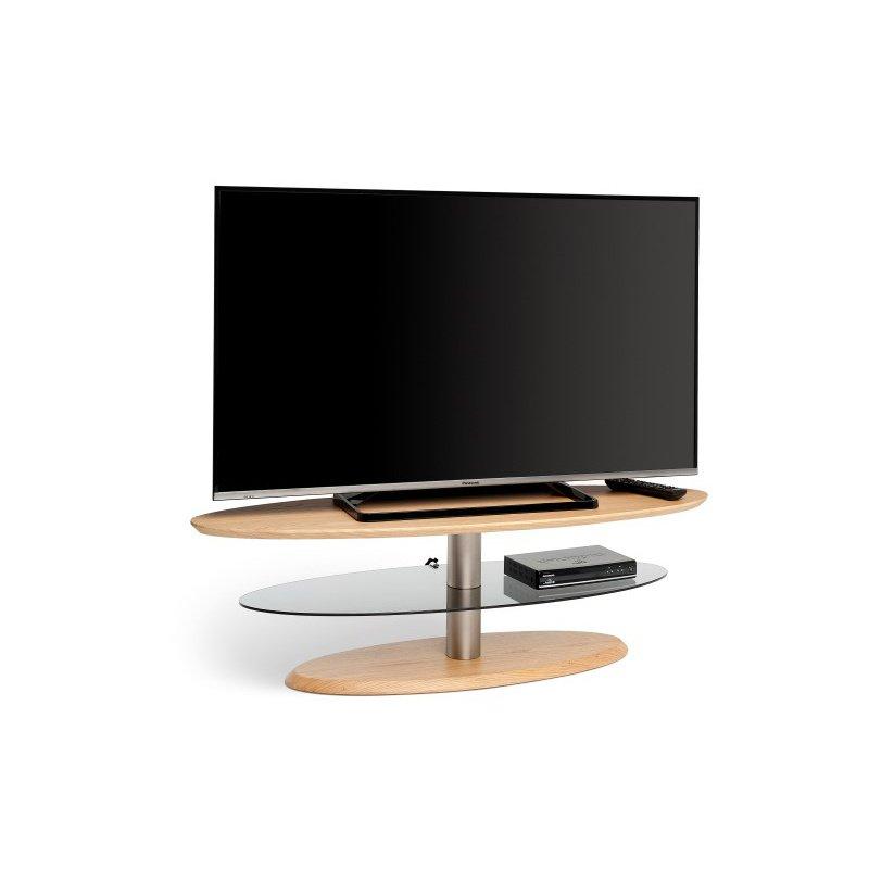 Techlink Eclipse Elliptical Light Oak TV Stand (EE120LO)