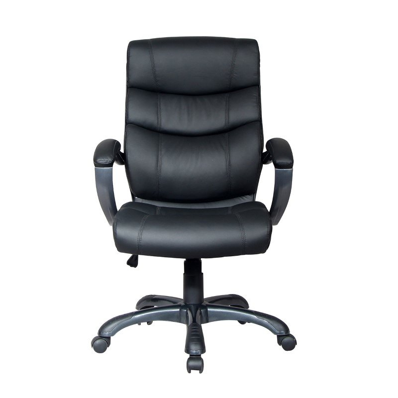 Techni Mobili 919H Executive Office Chair in Black