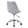 Techni Mobili Armless Task Chair with Buttons in Black