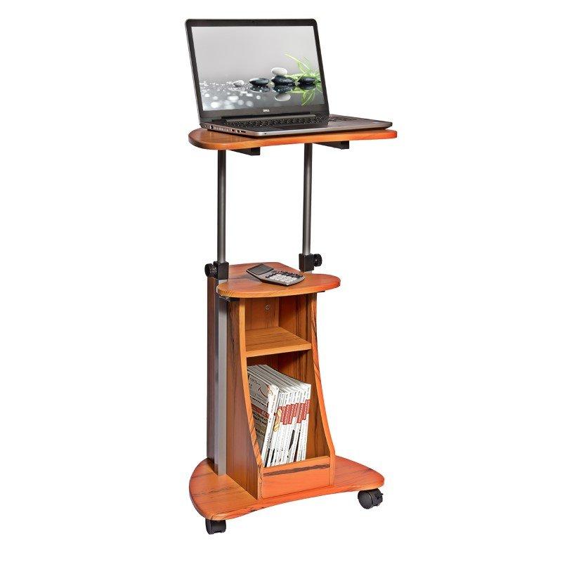 Techni Mobili Cadmus Mobile Laptop Stand in Honey