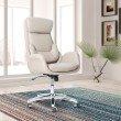 Techni Mobili Ergonomic Home Office Chair with Lumbar Support (RTA-1007-BG)