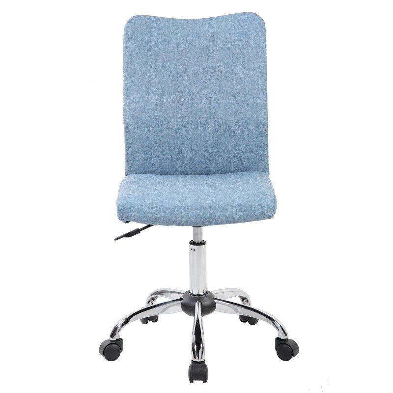 Techni Mobili Modern Armless Task Chair in Black