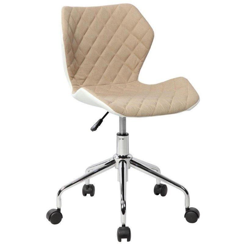 Techni Mobili Modern Height Adjustable Office Task Chair in Beige (RTA-3236-BG)
