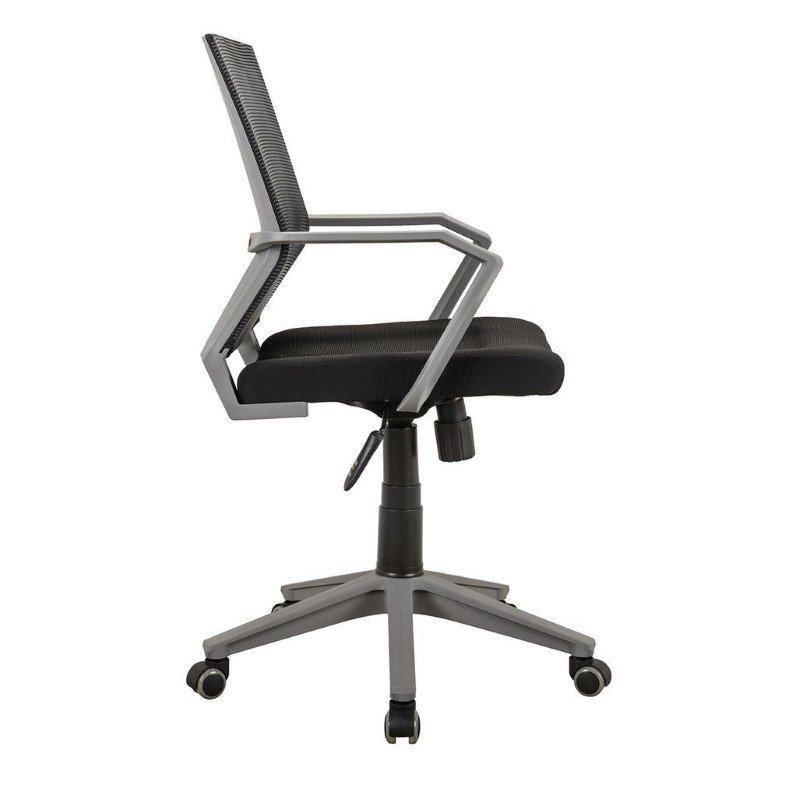 Techni Mobili Modern Office Mesh Task Chair in Black (RTA-2918-BK)