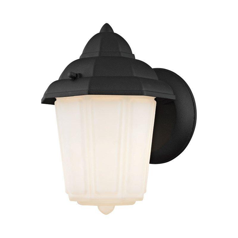 Thomas Lighting 1 Light Outdoor Wall Sconce in Matt Black (9211EW/65)
