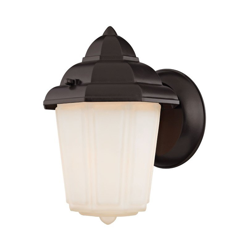 Thomas Lighting 1 Light Outdoor Wall Sconce in Oil Rubbed Bronze (9211EW/75)