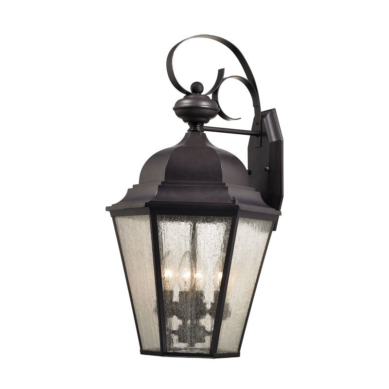 Thomas Lighting Cotswold 4 Light Exterior Wall Lamp in Oil Rubbed Bronze (8903EW/75)