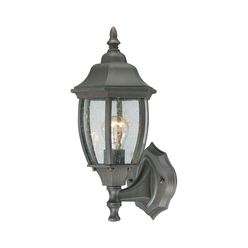 Thomas Lighting Covington 1 Light Wall Lantern in Painted Bronze (SL922363)