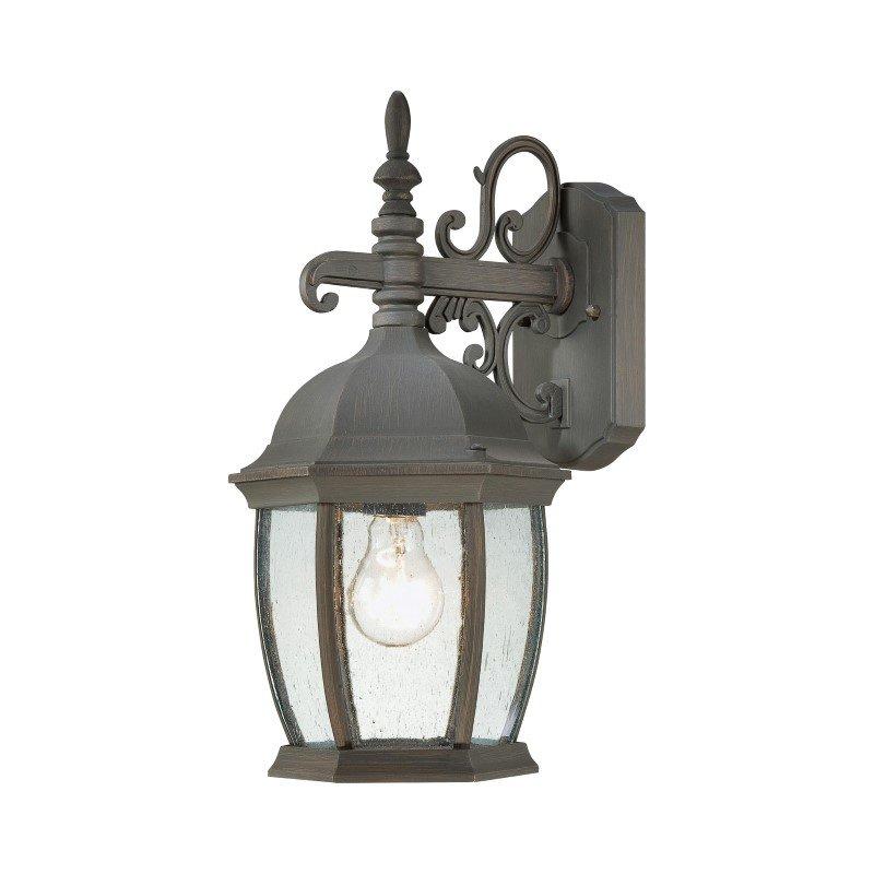 Thomas Lighting Covington 1 Light Wall Lantern in Painted Bronze (SL922863)