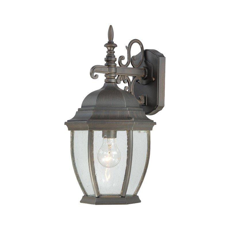Thomas Lighting Covington 1 Light Wall Lantern in Painted Bronze (SL922963)