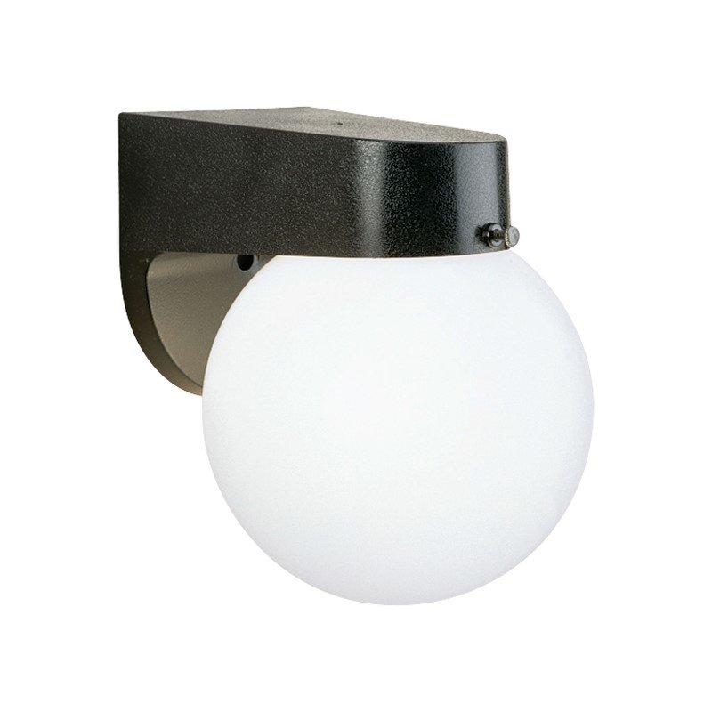 Thomas Lighting Essentials 1 Light Wall Lantern in Black (SL94357)