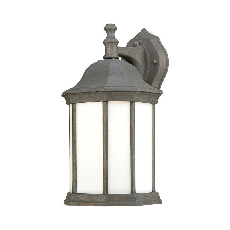 Thomas Lighting Hawthorne 1 Light Wall Lantern in Painted Bronze (PL946263)