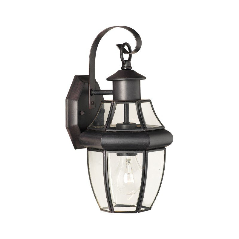 Thomas Lighting Heritage 1 Light Wall Lantern in Painted Bronze (SL941363)