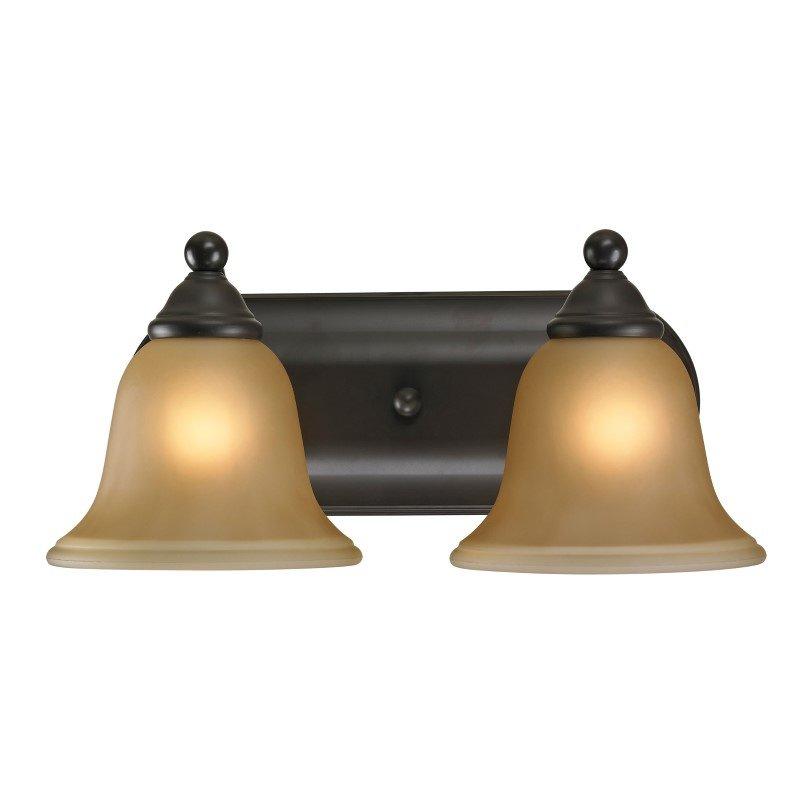 Thomas Lighting Shelburne 2 Light Bath Bar in Oil Rubbed Bronze (5502BB/10)