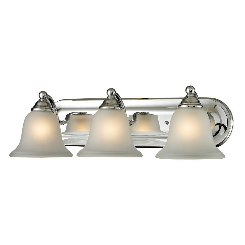 Thomas Lighting Shelburne 3 Light Bath Bar in Chrome (5503BB/30)