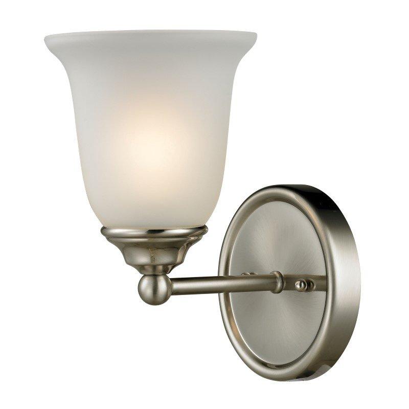 Thomas Lighting Sudbury 1 Light Bath Bar in Brushed Nickel (5601BB/20)
