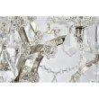 Urban Classic Elena 12 Light Polished Nickel Chandelier clear Royal Cut crystal (1138D26PN/RC)