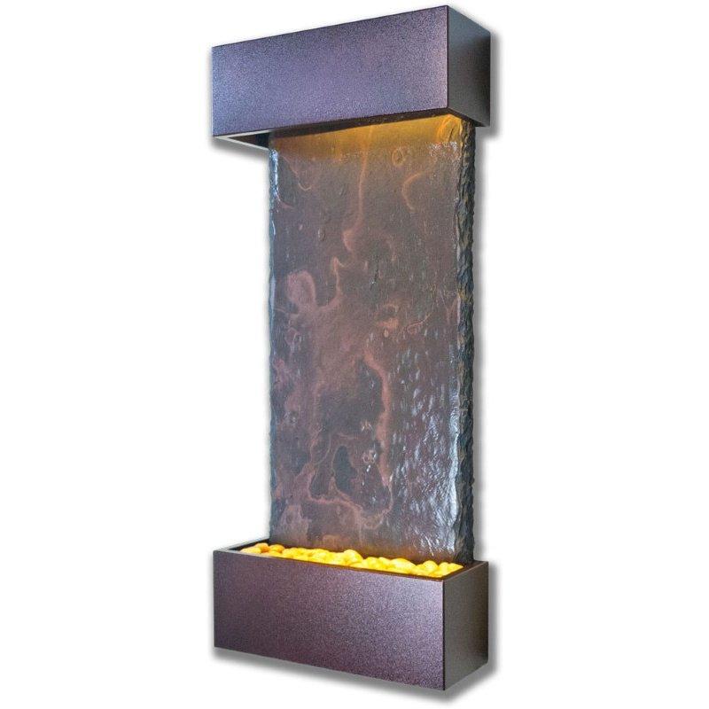 Water Wonders Slate Tech Medium Nojoqui Falls with Copper Vein (WWMVS-CV)