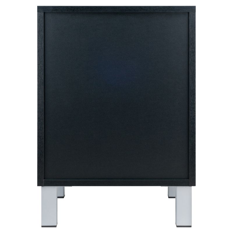 Winsome Wood Cawlins Accent Table in Black Finish (20917)