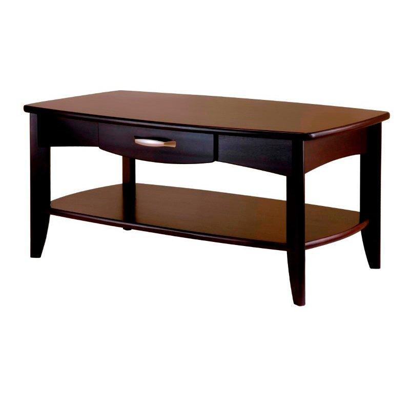 Winsome Wood Danica Coffee Table in Dark Espresso Finish