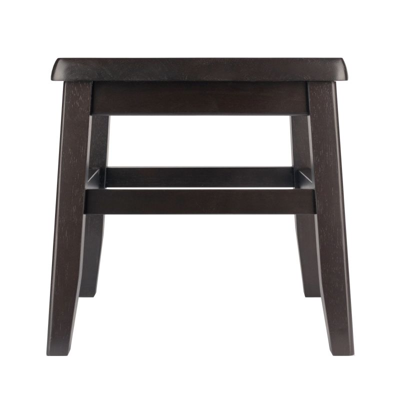 Winsome Wood Kaya Conductor Stool in Coffee Finish - Set of 2 (23210)