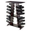 Winsome Wood Marlo 24-Bottle Wine Rack in Espresso