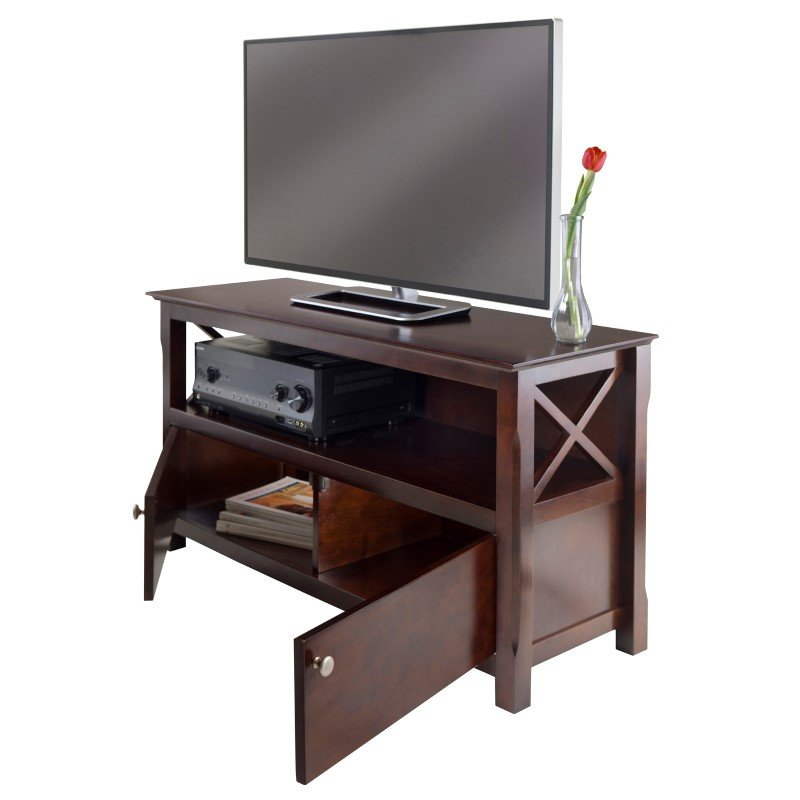 Winsome Wood Xola TV Stand in Cappuccino