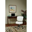 Work Smart Armless Task Chair in White