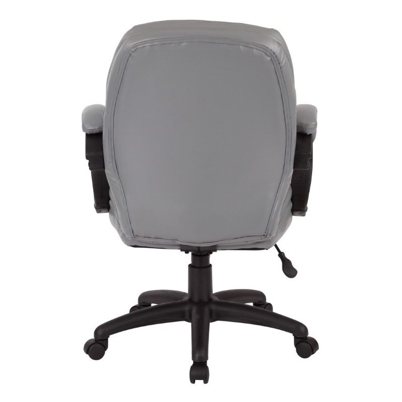 Work Smart Deluxe Managers Chair with Padded Arms