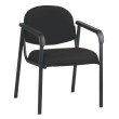 Work Smart Designer Plastic Visitor Chair with Shell Back
