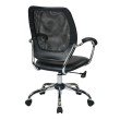 Work Smart Designer Screen Back Managers Chair in Black