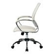 Work Smart Designer Screen Back Managers Chair in White