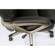 Work Smart Executive Bonded Leather Chair in Espresso
