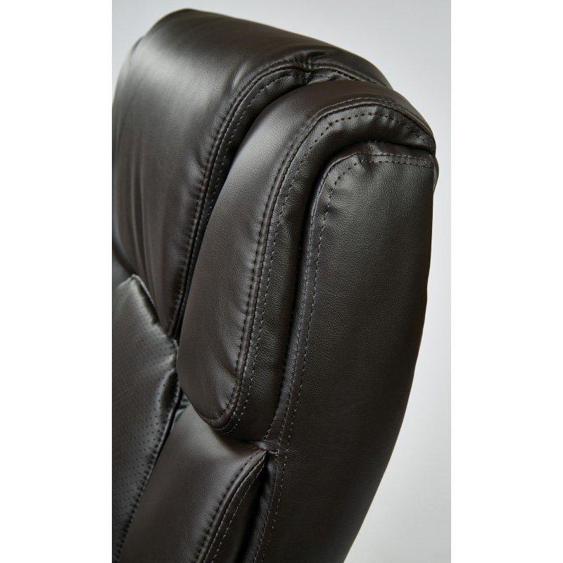 Work Smart Executive Espresso Eco-Leather Big Mans Chair